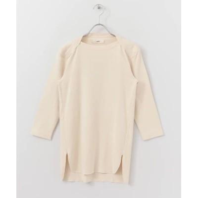 URBAN RESEARCH DOORS/アーバンリサーチ ドアーズ unfil vintage cotton b/n T-shirts natural 1