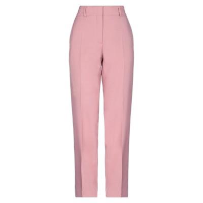 BURBERRY パンツ ピンク 40 ポリエステル 55% / バージンウール 45% パンツ