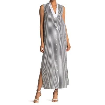 ボールドウィンデニム レディース ワンピース トップス Brock Stripe Print Maxi Dress NVWH