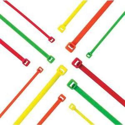 パンドウイット ナイロン結束バンド 蛍光緑 (1000本入)(入数:1000本)(品番:PLT1M-M55)『8180380』