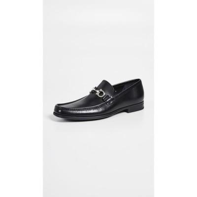 サルヴァトーレ フェラガモ Salvatore Ferragamo メンズ ローファー シューズ・靴 Chris Reversible Bit Loafers Black