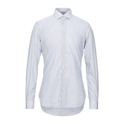 EMANUELE MAFFEIS シャツ ブルー 38 コットン 100% シャツ