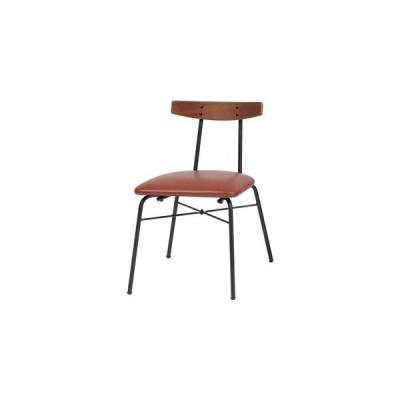 ds-2330380 ダイニングチェア anthem Chair(adap) ブラウン 【組立品】【代引不可】 (ds2330380)