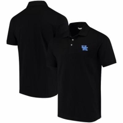 """メンズ ポロシャツ """"Kentucky Wildcats"""" Cutter - Buck Collegiate Advantage DryTec Polo - Black"""