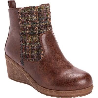 ムクルクス MUK LUKS レディース ブーツ ウェッジソール シューズ・靴 Novah Wedge Heel Bootie