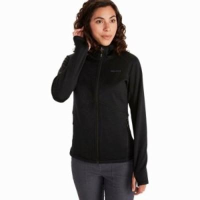 (取寄)マーモット レディース オールデン ポーラテック フーデッド ジャケット Marmot Women Olden Polartec Hooded Jacket Black