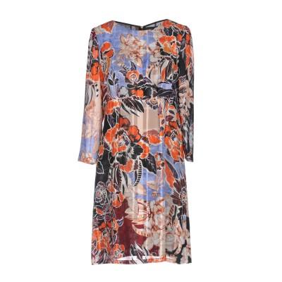 ジャストカヴァリ JUST CAVALLI ミニワンピース&ドレス スカイブルー 38 コットン 73% / シルク 27% ミニワンピース&ドレス