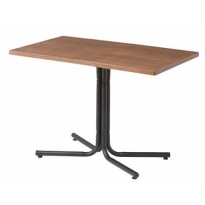 ダリオ カフェテーブル END-224TBR W100xD60xH67 シンプルなデザインのカフェテーブル