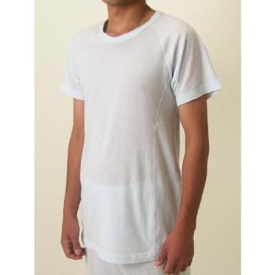 メンズ Men's  肌着 インナー シャツ 半袖 抗菌 消臭 / 消臭機能付き 丸首半そでシャツ 男性用 メール便対応可能