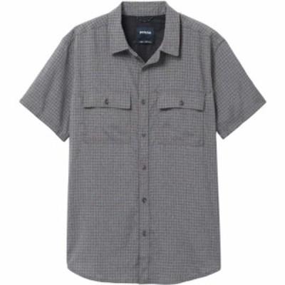 プラーナ prAna メンズ トップス Garvan Shirt Charcoal
