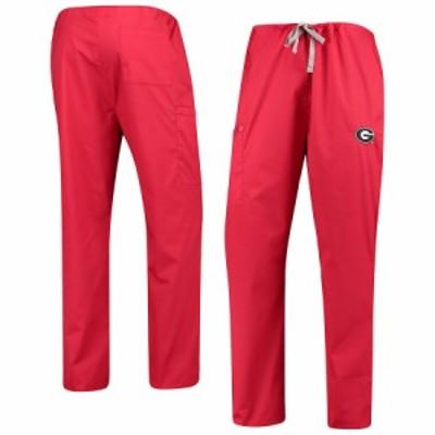 """メンズ ジャージ """"Georgia Bulldogs"""" Drawstring Cargo Pants - Red"""