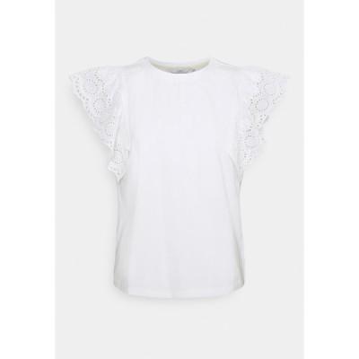 ニンフ Tシャツ レディース トップス NUCLIO TEE - Print T-shirt - bright white
