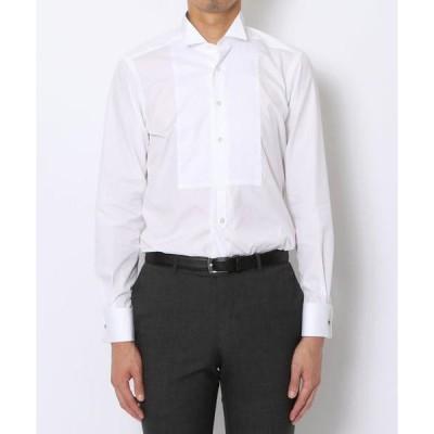 シャツ ブラウス 140/2コットンブロード ウィングカラー ドレスシャツ
