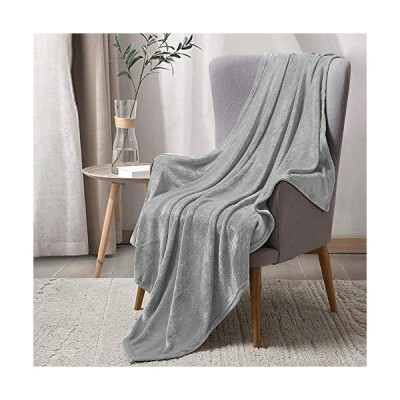 BEDELITE Fleece Blankets Grey Throw Blankets for Couch & Bed,Plush Microfiber Fuzzy Blanket, Super Soft Warm Blankets for Winter【並行輸