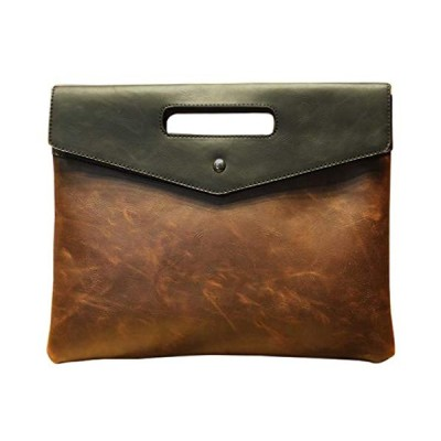 [ビートーク] CBAG1 持ちやすい 取っ手付き クラッチバッグ アンティーク レザー 風 封筒型 セカンドバッグ メンズ 薄型 鞄 カバン 革 小