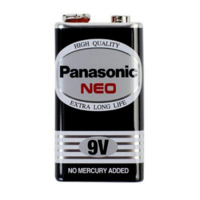 Panasonic 國際牌 NEO 黑色錳乾電池 碳鋅電池 9V 專用電池 單顆