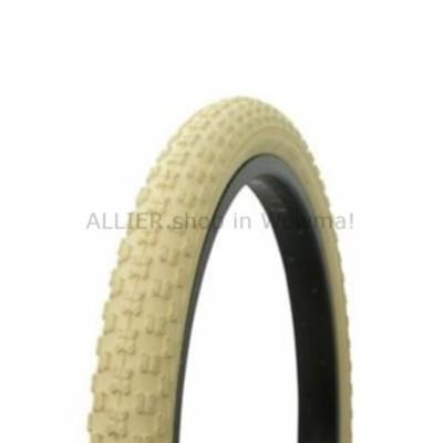 """BMX ワンダバイク自転車タイヤ20 """"x 2.125""""クリーム/クリームサイドウォールコンプ3 BMXフリースタイル  Wand"""
