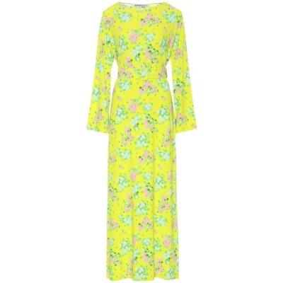 ベルナデッタ Bernadette レディース ワンピース ミドル丈 ワンピース・ドレス Monica floral midi dress Roses Yellow