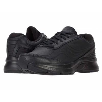 Saucony サッカニー メンズ 男性用 シューズ 靴 スニーカー 運動靴 Omni Walker 3 Black【送料無料】