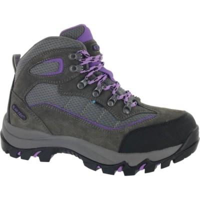 ハイテック HI-TEC レディース ハイキング・登山 ブーツ シューズ・靴 Skamania Mid Waterproof Hiking Boots GREY