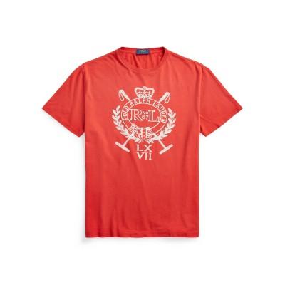 POLO RALPH LAUREN T シャツ レンガ XS コットン 100% T シャツ