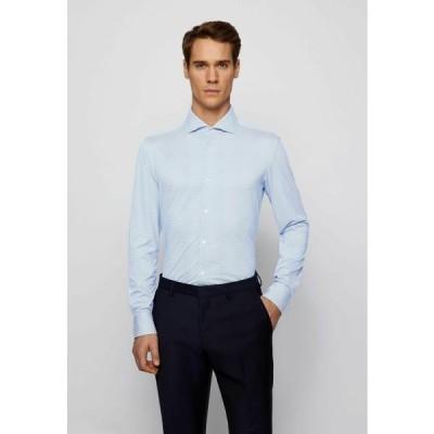 ボス メンズ ファッション JASON - Formal shirt - blue