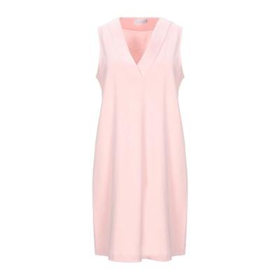 GIANNI CUCCUINI ミニワンピース&ドレス ピンク 42 コットン 94% / ナイロン 6% ミニワンピース&ドレス