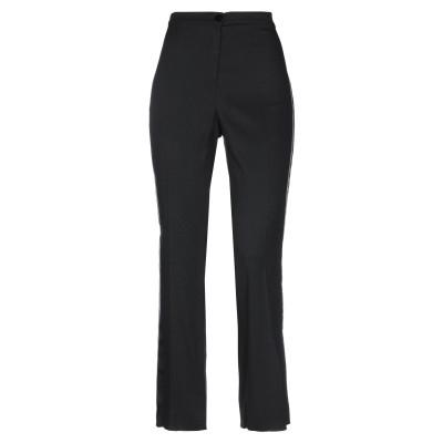ディアナ ガッレージ DIANA GALLESI パンツ ブラック 44 レーヨン 98% / ポリウレタン 2% パンツ