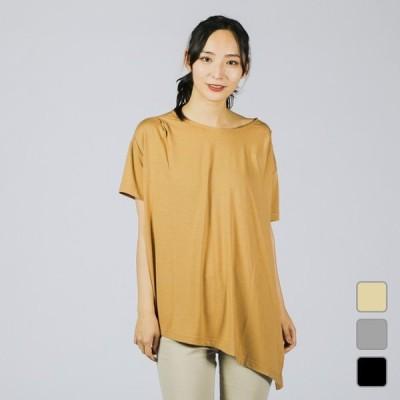 ティゴラ レディース 半袖Tシャツ デザインチュニックTシャツ 半袖 TR-9P2220TS TIGORA