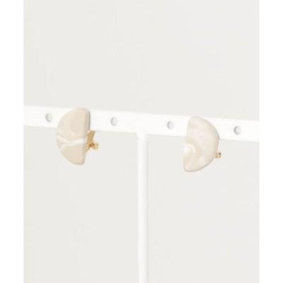 イヤリング 【atelier*mio】MOON earring