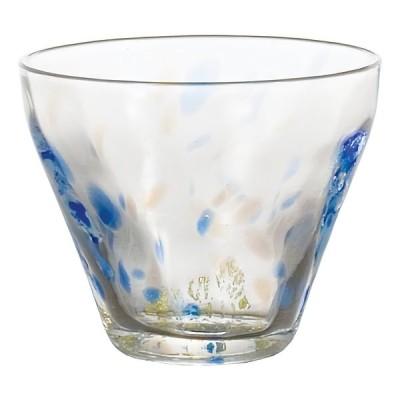 盃 瑠璃 冷酒 ぐい呑み ミニグラス ガラス食器 手作り 津軽びいどろ 石塚硝子 アデリア 誕生日プレゼント