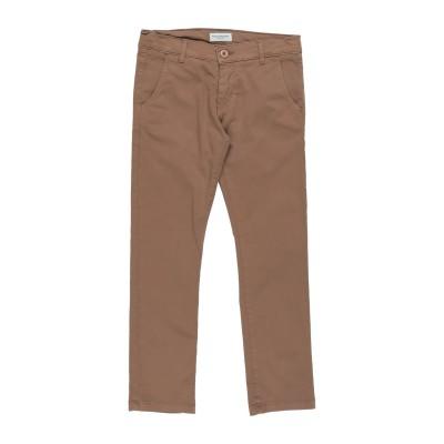 パオロ ペコラ PAOLO PECORA パンツ ブラウン 8 コットン 98% / ポリウレタン 2% パンツ