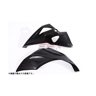 SSK アンダーカウル 左右セット ドライカーボン 綾織り艶消し (KAWASAKI Z1000 2014-) CKA0604TM