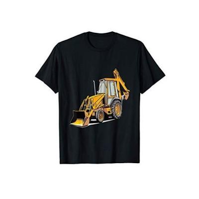 バックホウ掘削機建設オペレーター重機発掘 Tシャツ