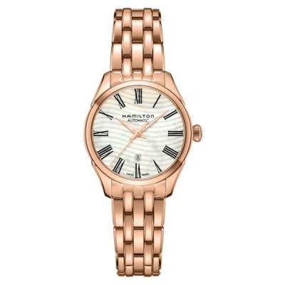 ハミルトン レディース 腕時計 アクセサリー Women's Jazzmaster Lady Auto Watch, 30mm Rose Gold/ Mop/ Rose Gold
