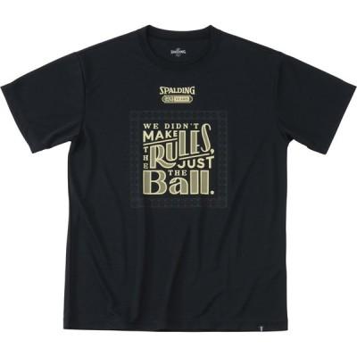 SPALDING(スポルディング) Tシャツ-125th-ボール バスケット SMT191170-1000
