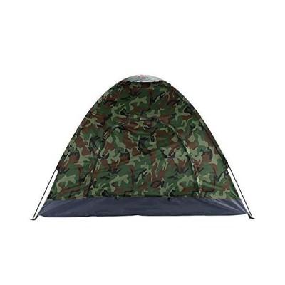 海外限定 3-4 Person Camping Dome Tent Camouflage for Hiking,Travel, Outdoor,Self-Driving Tour, Family Camping