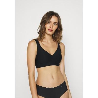 レディース ファッション INVISIBLE PADDED SOFT BRA - Triangle bra - black
