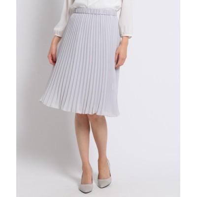 COUP DE CHANCE(クードシャンス) 【洗える】リバーシブルアコーディオンプリーツスカート