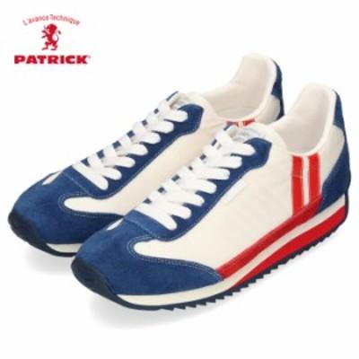 PATRICK パトリック スニーカー レディース メンズ 942009 42009 日本製 靴 スニーカー MARATHON TEKND マラソン テコンドー トリコロー
