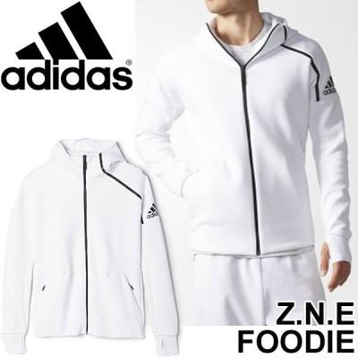 パーカー メンズ アディダス adidas ZNE フーディー トレーニング ジム スポーツ ウェア 男性 AZ6141 ホワイト Z.N.E./ZNE-FZHOOD