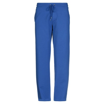 DIRK BIKKEMBERGS パンツ ブライトブルー XXL コットン 95% / エコポリエステル 5% パンツ