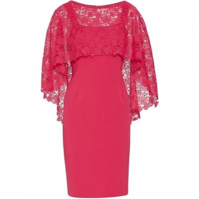ジーナ バッコーニ Gina Bacconi レディース ワンピース ワンピース・ドレス Catriona Overcape Dress Rose