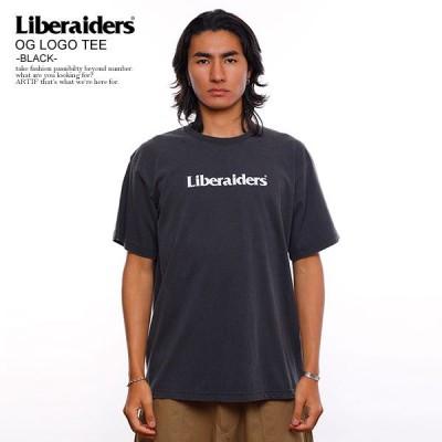 リベレイダース Tシャツ Liberaiders OG LOGO TEE -BLACK-