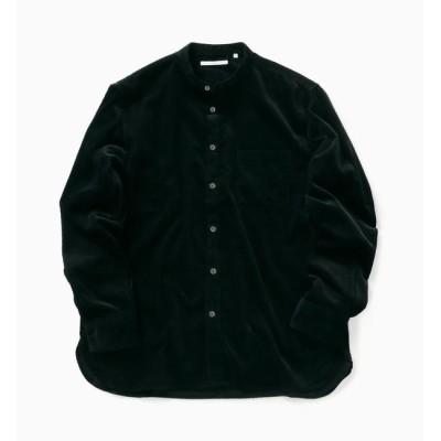 【シップス/SHIPS】 SC: 9W コーデュロイ バンドカラー シャツ