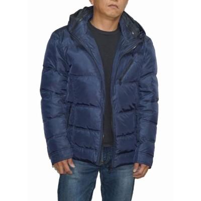 ハイダウェイ ニコル HIDEAWAYS NICOLE ダウンジャケット 紺  8565-3708 防寒 防風 耐寒 保温 メンズ ネイビー 冬物 大きいサイズ
