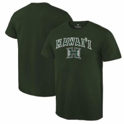 Fanatics Branded ファナティクス ブランド スポーツ用品  Hawaii Warriors Green Campus T-Shirt