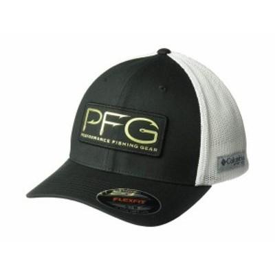 コロンビア メンズ 帽子 アクセサリー PFG Mesh¢ Hooks Ball Cap Black/Gold