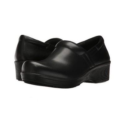 Dr. Scholl's Work ドクターショール レディース 女性用 シューズ 靴 クロッグ ミュール Dynamo - Black Leather