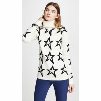 パーフェクト モーメント Perfect Moment レディース ニット・セーター トップス Star Dust Wool Sweater Snow White/Black Star